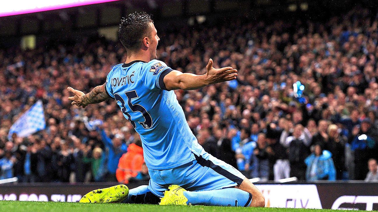 After an injury-plagued first season, Stevan Jovetic has emerged as a major threat up front for City in his second season at the Etihad.