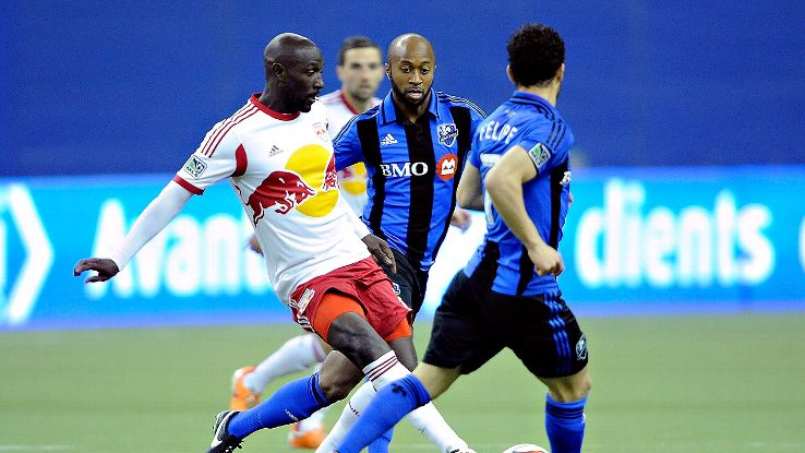 Ambroise Oyongo's stellar play with the New York Red Bulls has led to a call-up with Cameroon.