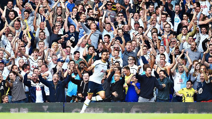 After a dour 2013-14, Nacer Chadli and Spurs have brought back the good times at White Hart Lane.