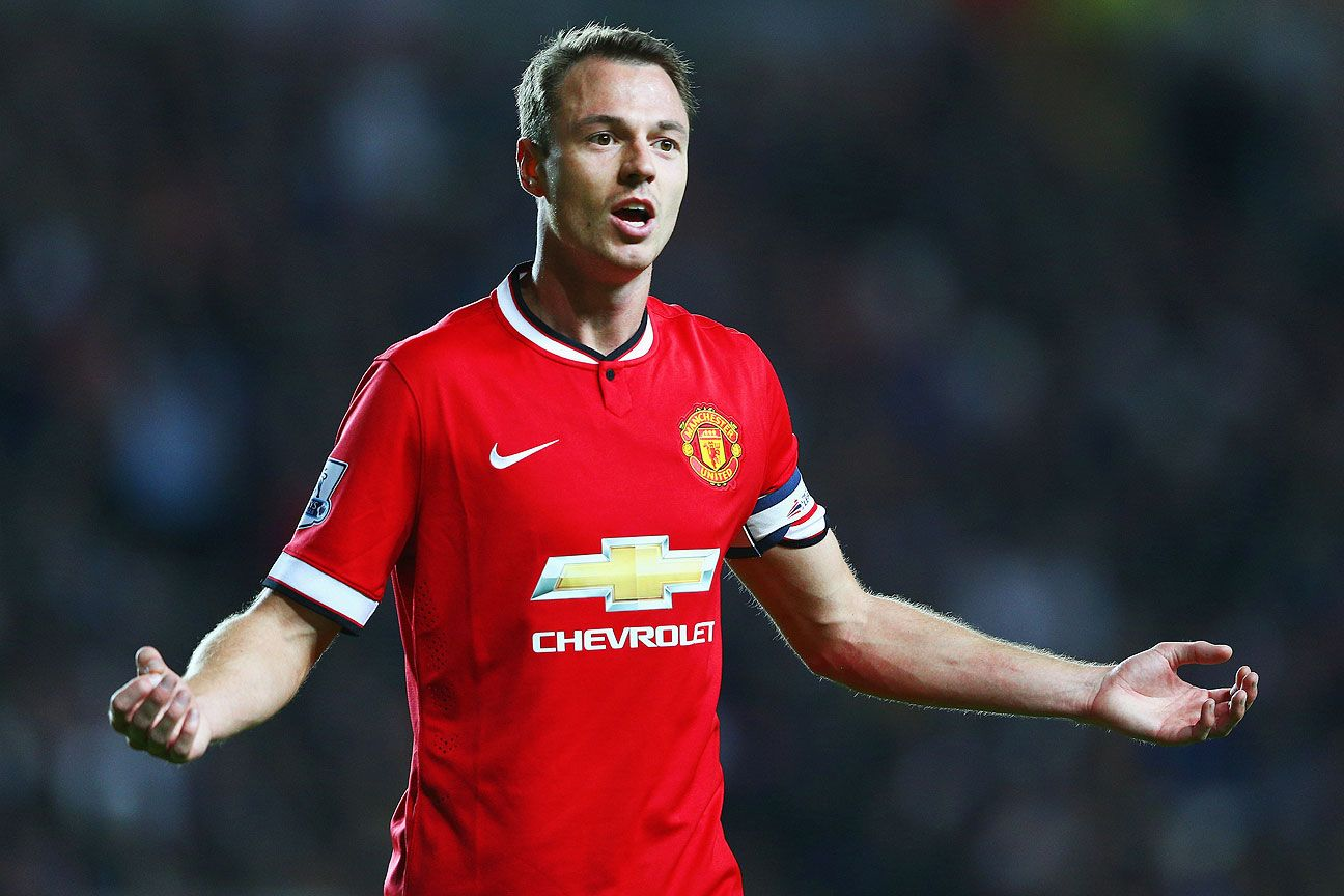 Jonny Evans and the rest of the United defense were all out of sorts.