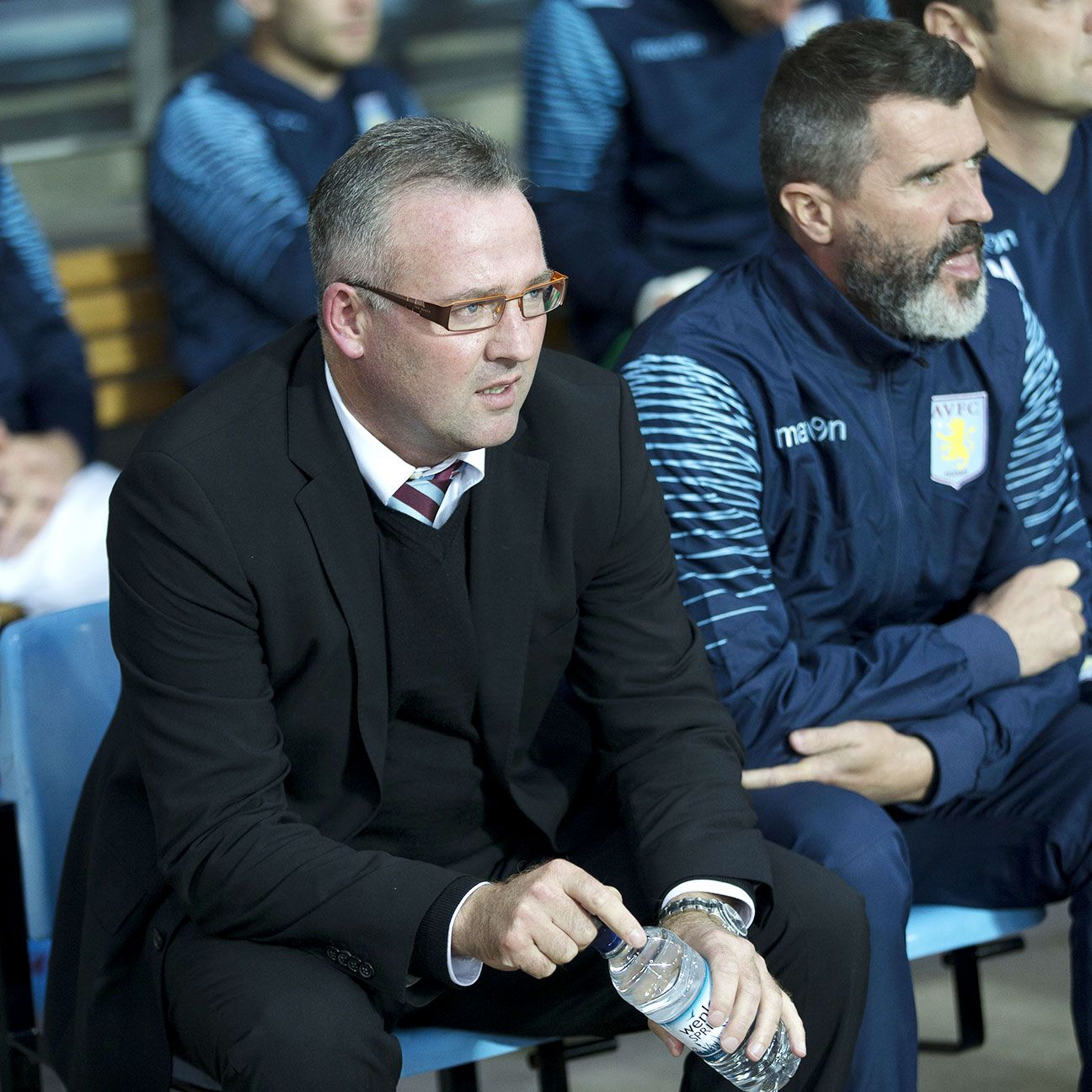 Keane will not be at Paul Lambert's side when Villa head to Burnley this weekend.