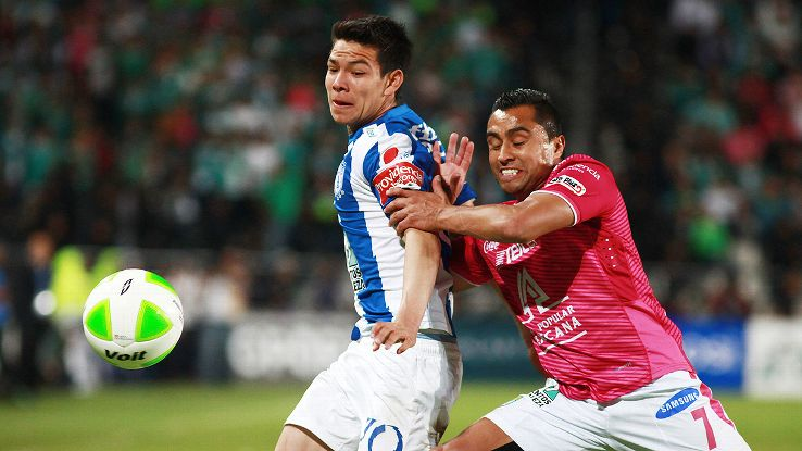 Pachuca will look to avenge their Clausura final defeat when they face Leon this weekend.