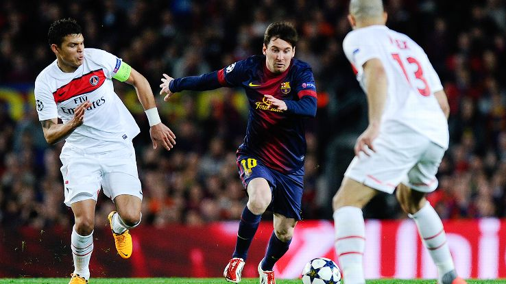 An injury-hampered Lionel Messi memorably came off the bench to help Barcelona earn a 1-1 draw in their 2012-13 Champions League quarterfinal versus PSG.
