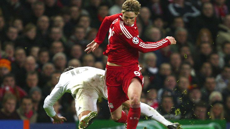 Fernando Torres and Liverpool ran rampant over Real Madrid in their 2009 last 16 second leg fixture.