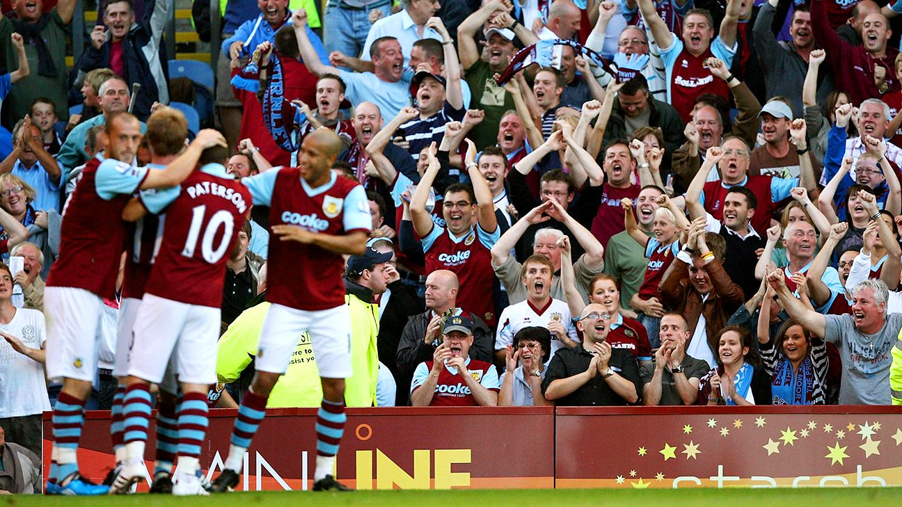 Burnley are hoping for a repeat of their 1-0 win over Manchester United at Turf Moor back in 2009.