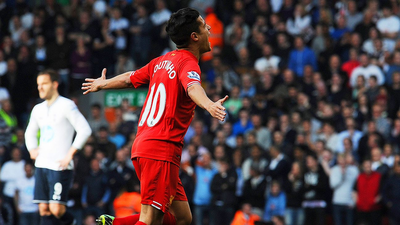Philippe Coutinho and Liverpool had two easy romps last season against Tottenham.