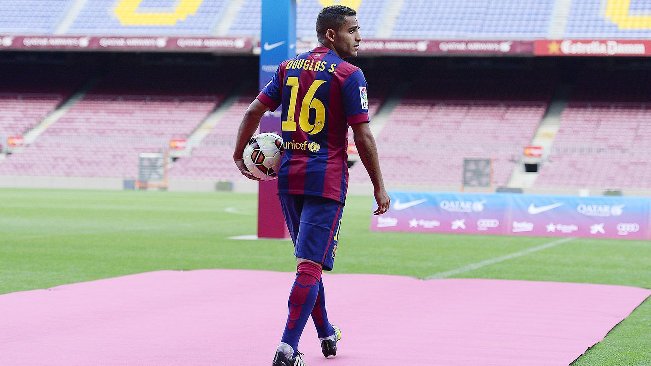 Douglas already has his fair share of skeptics at Barcelona.