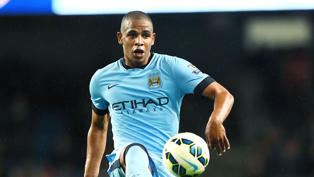 Manchester City's Fernando wants to learn from Chelsea's Nemanja Matic