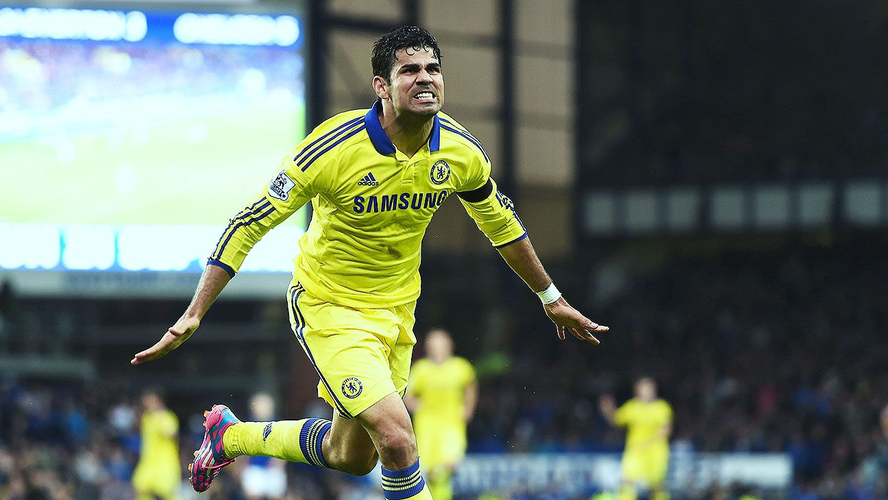Diego Costa was in full force with a brace to help the Blues double up the Toffees.