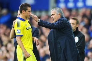 Jose Mourinho's frustration with his back line was evident.