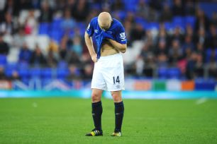 Steven Naismith and Everton have just two points from their first three matches.
