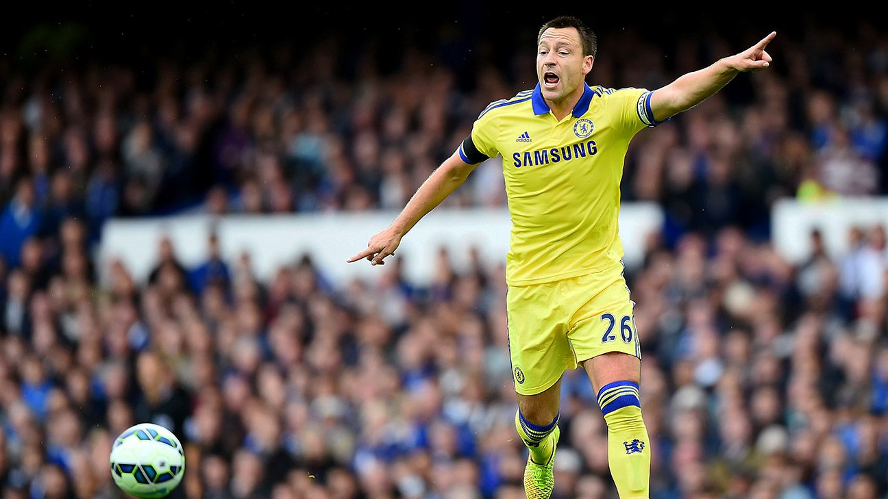 John Terry and the Chelsea defence allowed three goals, but were boosted by the team's attack in Saturday's wild affair.