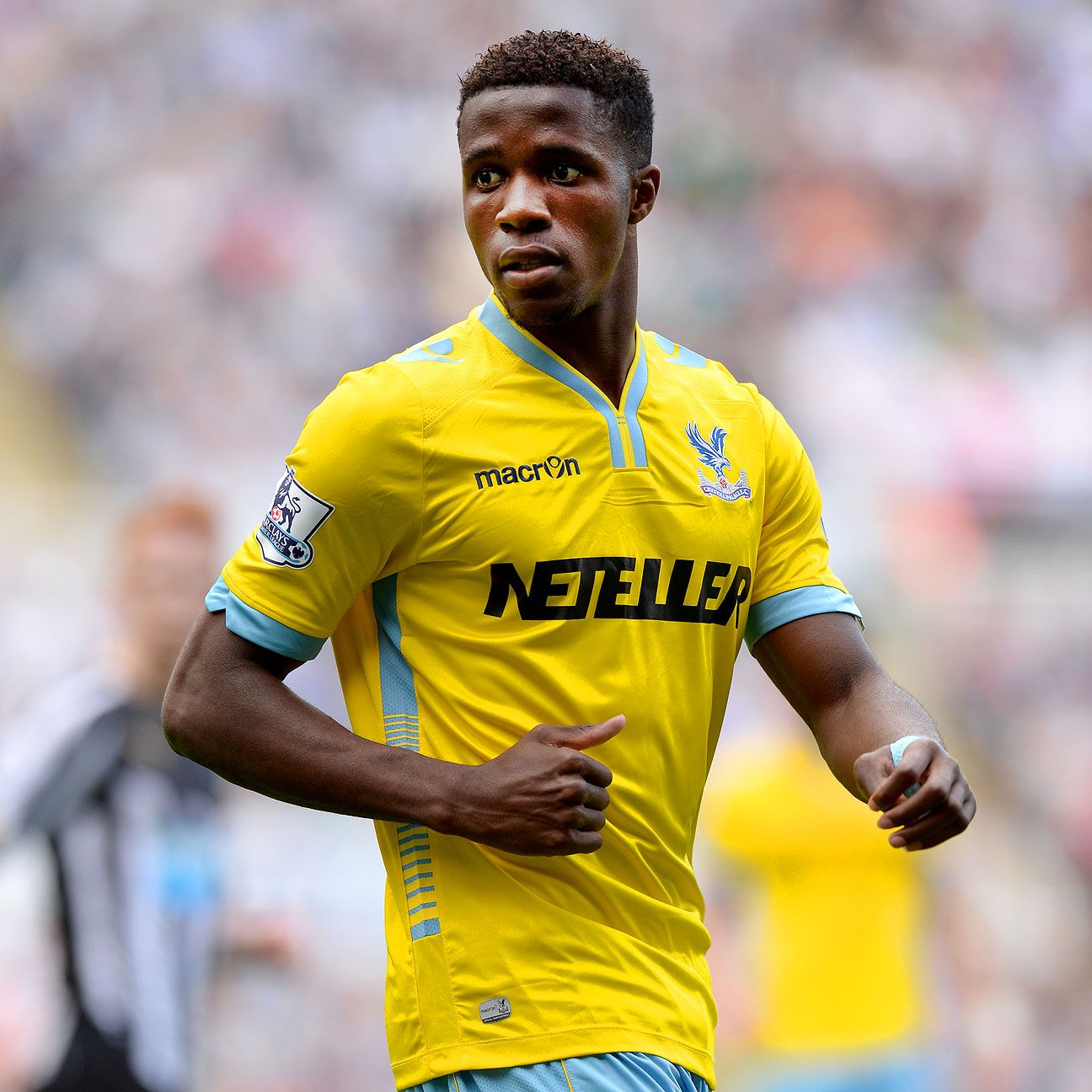 Wilfried Zaha is back at Crystal Palace where he helped the Eagles get promoted from the Championship in 2012-13.
