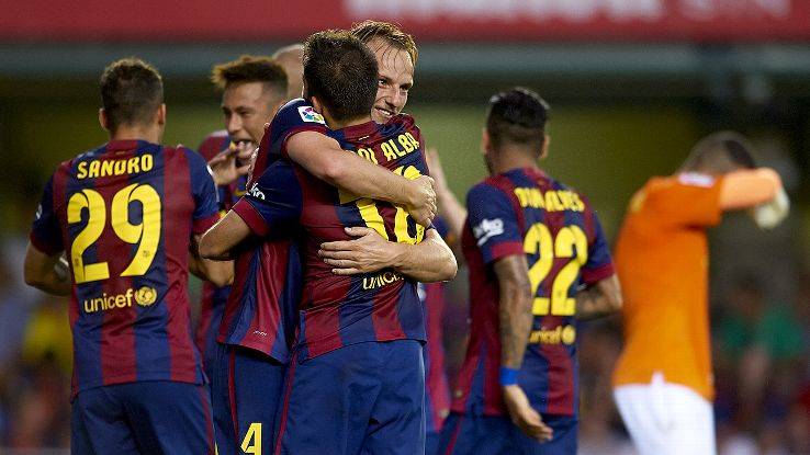 Barcelona are off to a bright start thanks in large part to the play of new arrival Ivan Rakitic.