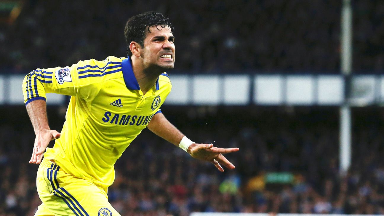 Chelsea's Diego Costa has hit the ground running in the Prem with four goals in just three matches.
