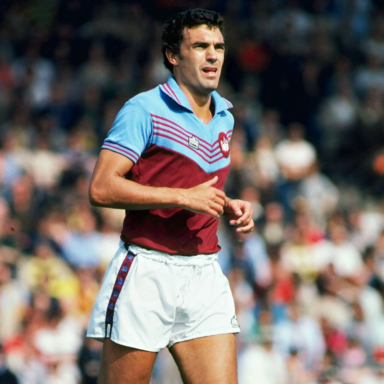 Tempted throughout his career to join other clubs, Sir Trevor Brooking always remained a West Ham United man.