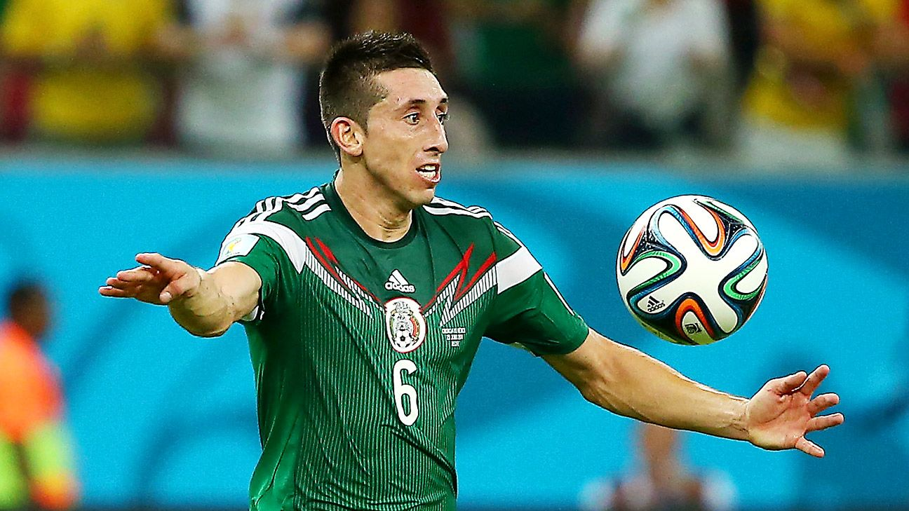 Hector Herrera will look to continue his stellar 2014 form in Mexico's new World Cup cycle.