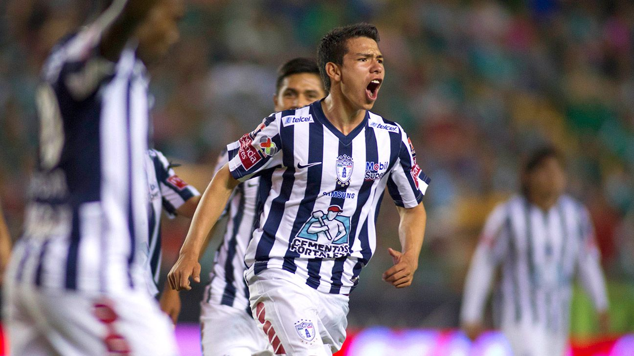Rising star Hirving Lozano of Pachuca will have to wait for his Mexico debut.