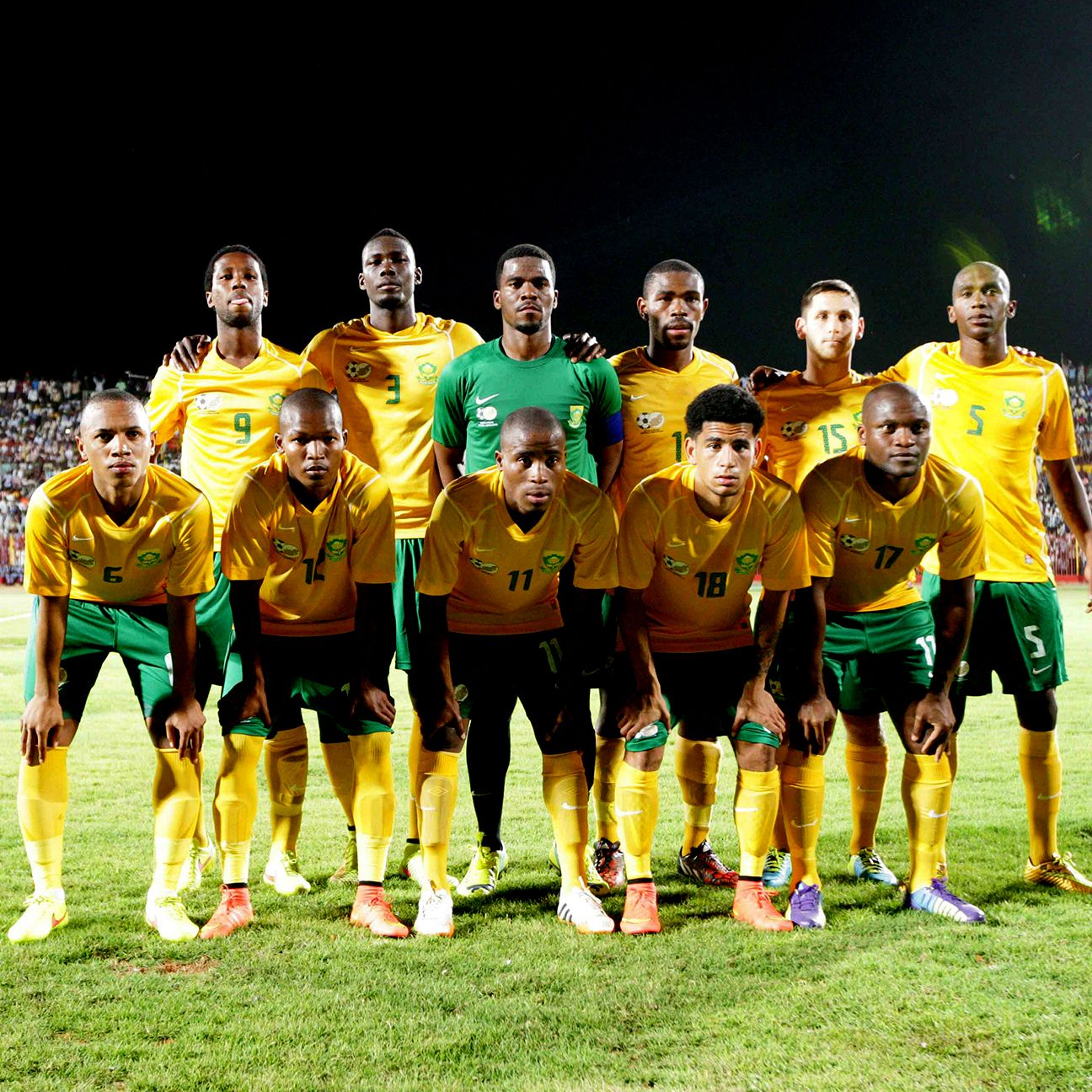 South Africa's ANC qualifying started with a 3-0 victory over Sudan.