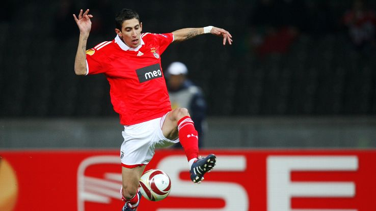 Benfica's effective use of Angel di Maria in the diamond during the 2009-10 season produced some breathtaking football.