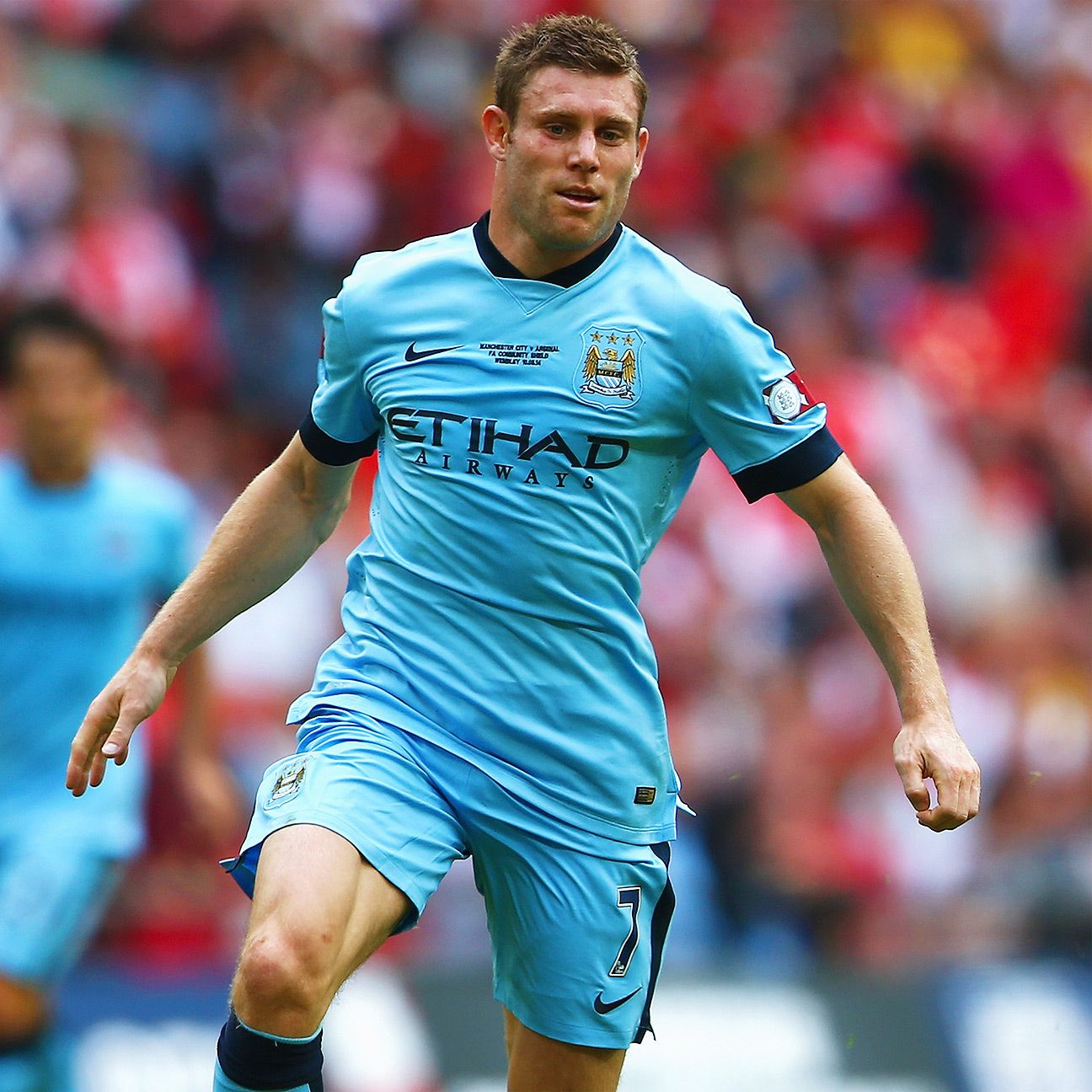 No matter the circumstances, Manchester City's James Milner always seems willing to do the dirty work.