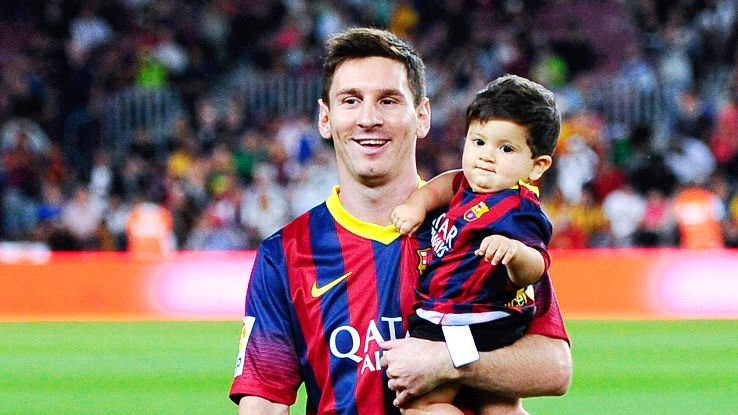Lionel Messi's wife expecting second child, Barcelona star says