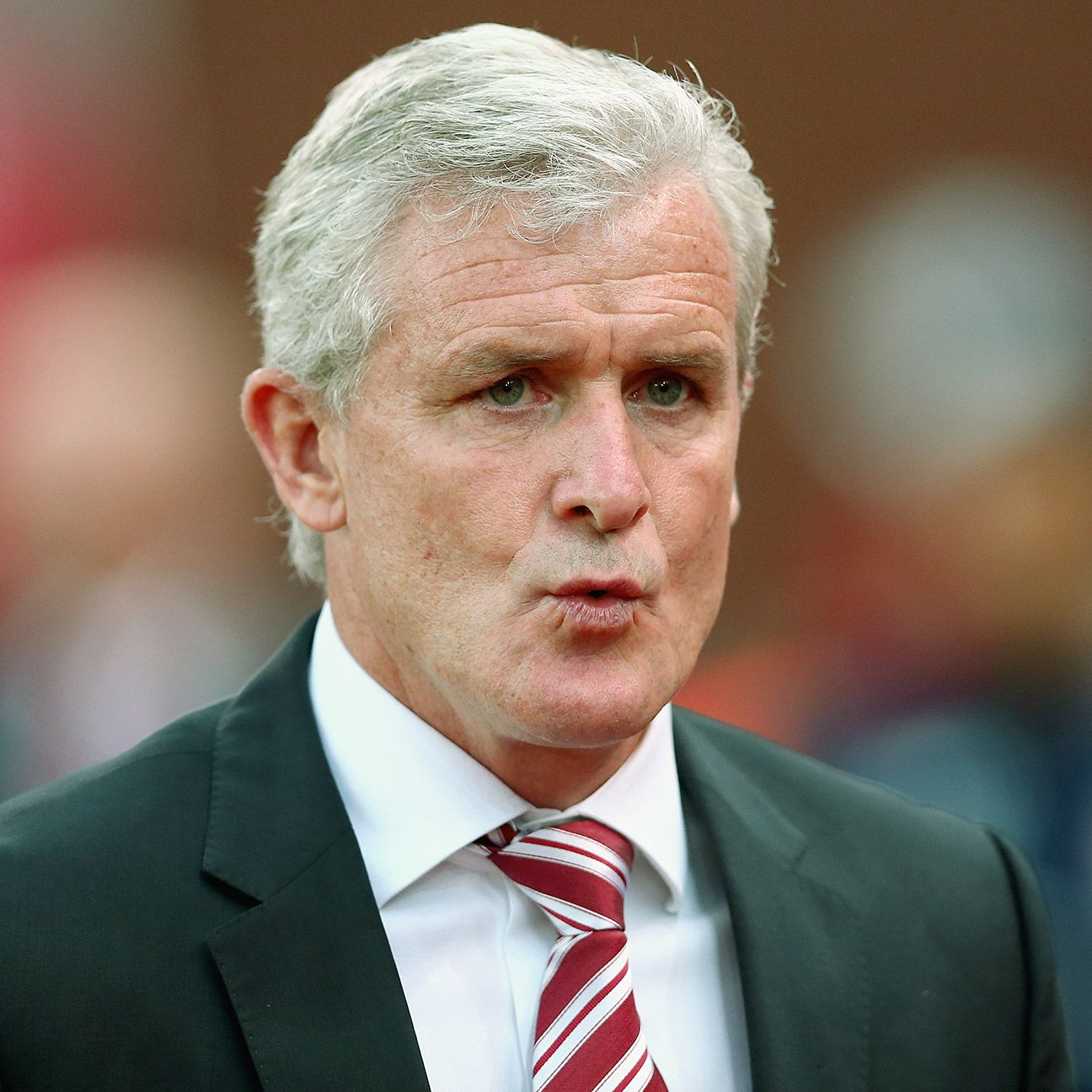 Mark Hughes will hope his Stoke City pick up where they had left off before the international break.
