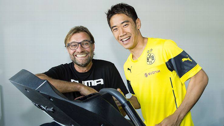 The return of Shinji Kagawa to a depleted Dortmund squad has given manager Jurgen Klopp reason to smile.