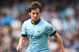 Injuries to the Manchester City strike force could see the creative David Silva playing more of a role in the center of the pitch.