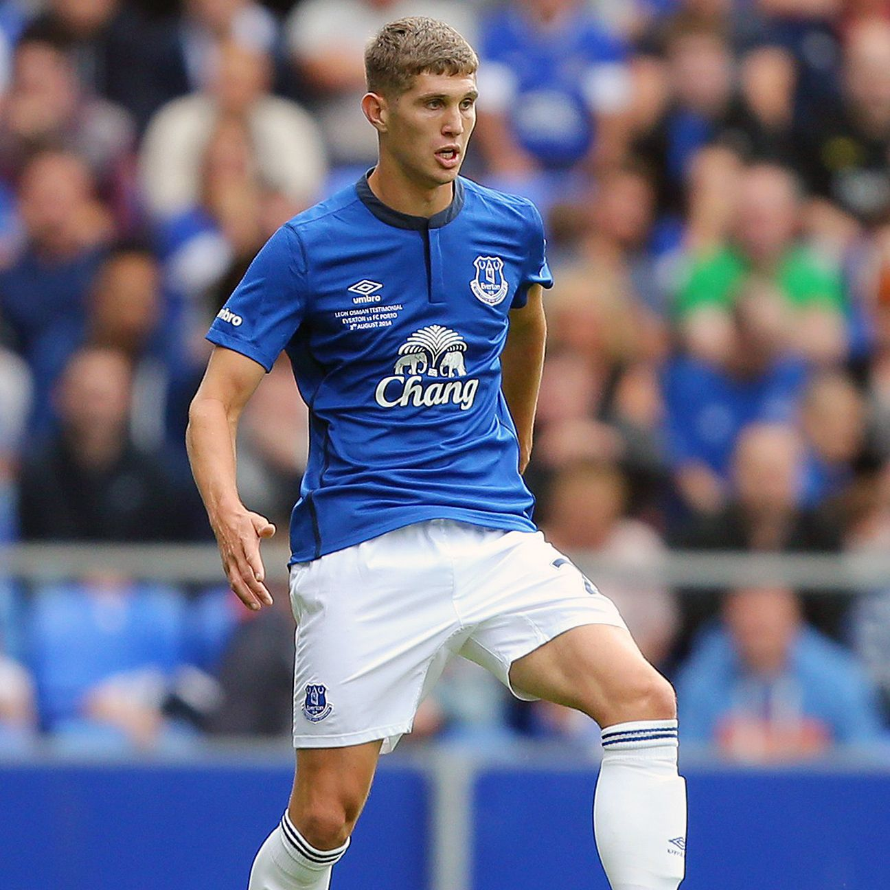 John Stones could be the man to help shore up Everton's suddenly beleaguered defence.