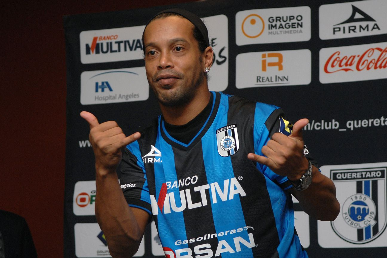 Queretaro shocked the masses by signing Brazilian star Ronaldinho midway through the season.