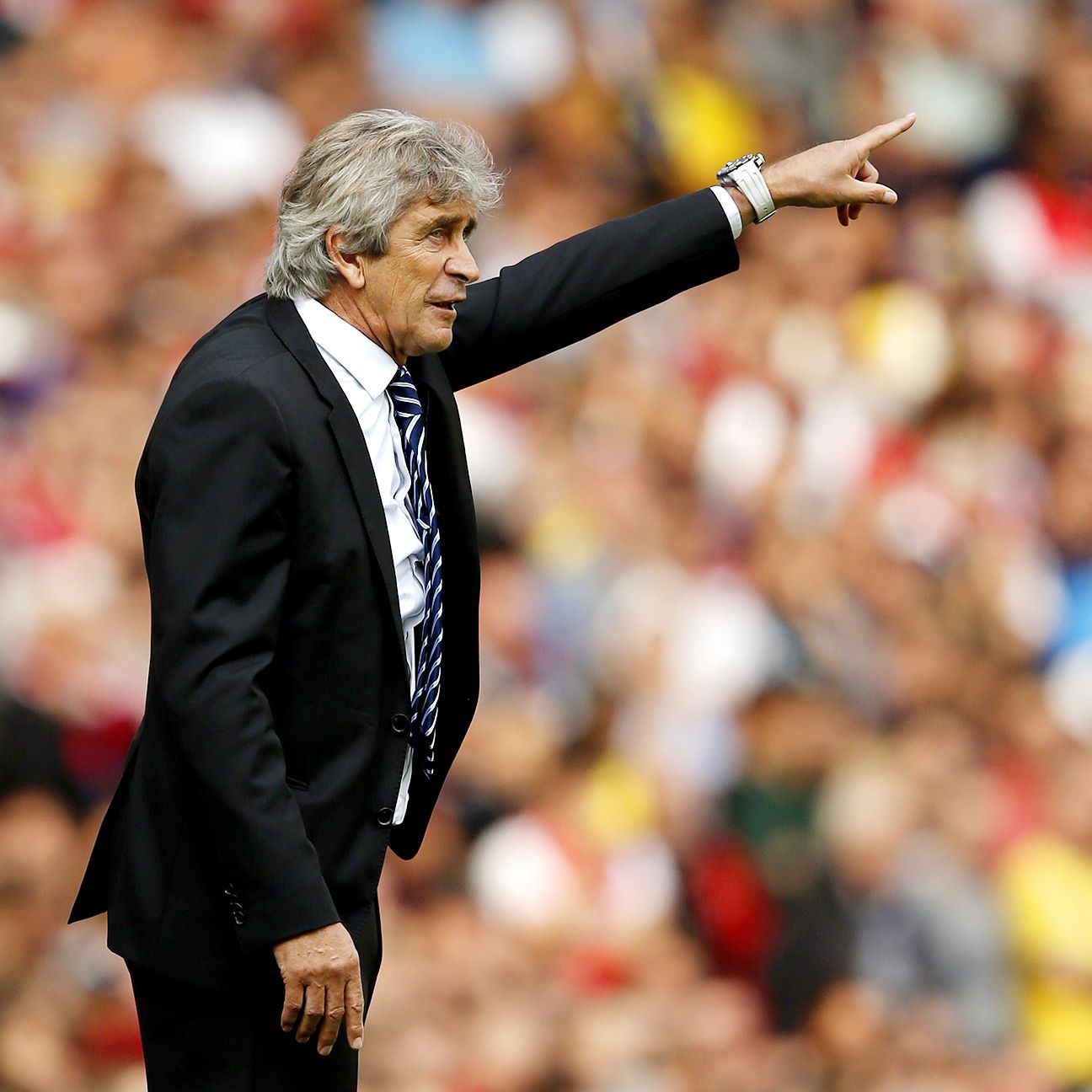 Manuel Pellegrini's Manchester City showed their physical side in Saturday's draw at Arsenal.
