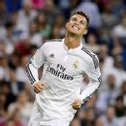 Cristiano Ronaldo's return from injury was one of the few bright sports for Los Blancos.