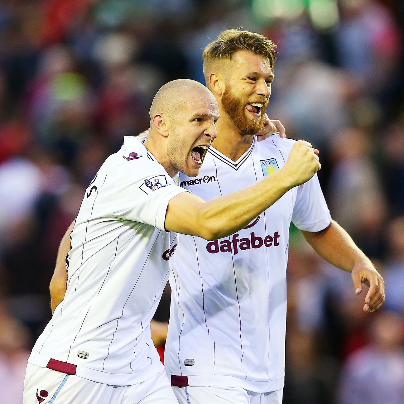 There was nothing getting past Philippe Senderos and Nathan Baker on Saturday at Anfield.