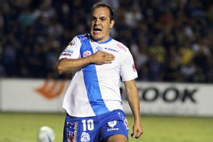 41-year-old Cuauhtemoc Blanco came through in the clutch to earn Puebla a share of the points at Queretaro.
