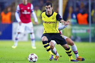 Henrikh Mkhitaryan will be one of Borussia Dortmund's main sources of attack versus Arsenal.