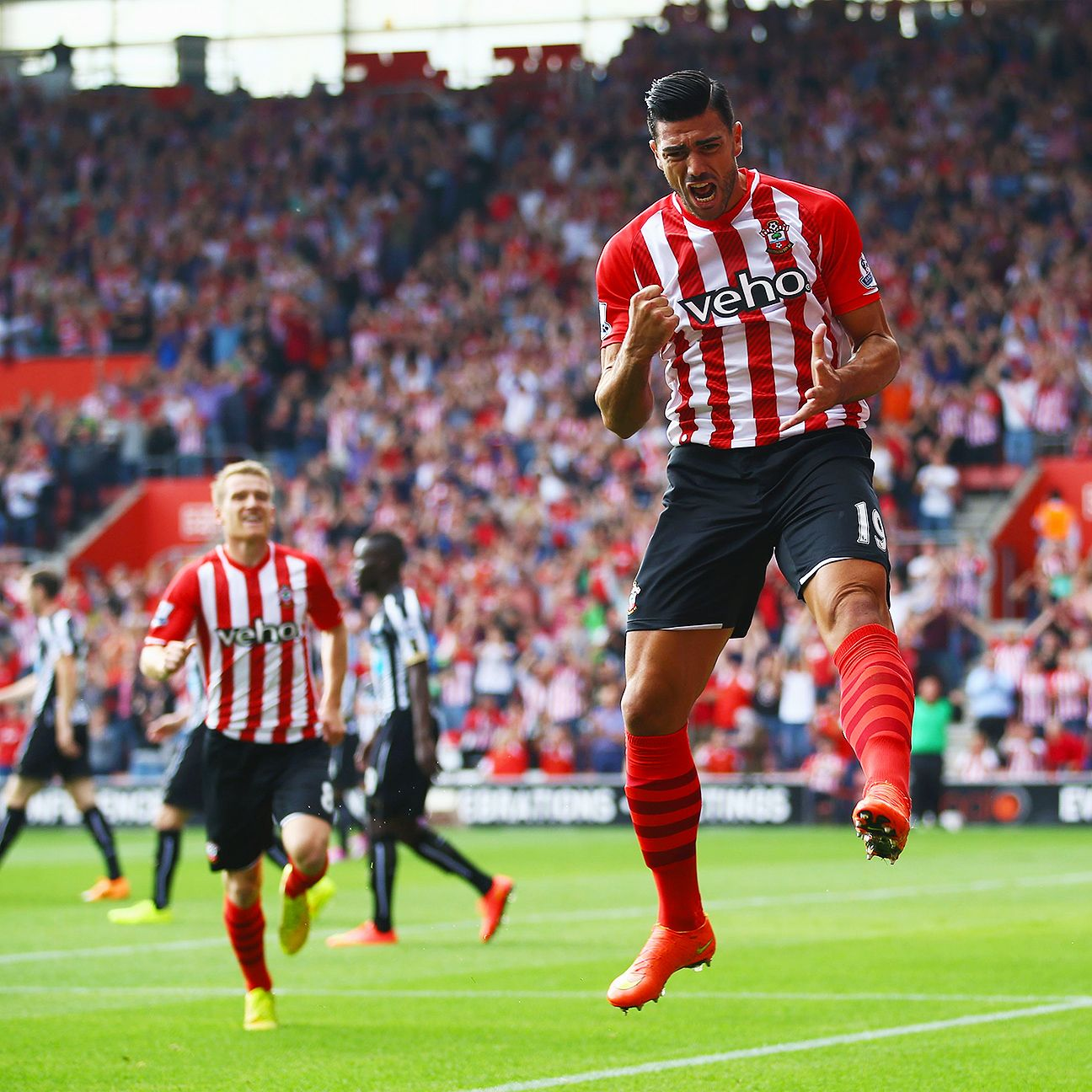 Two goals and an assist made Southampton's Graziano Pelle a fantasy steal.