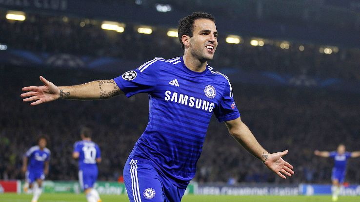 Cesc Fabregas will play a key role -- both in the attack and on defense -- in Chelsea's Champions League title bid.