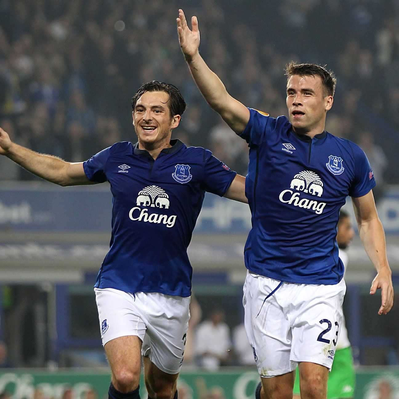 Fullbacks Leighton Baines and Seamus Coleman led the charge in Everton's Europa League triumph.