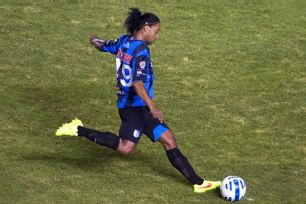 Ronaldinho's Queretaro debut will be forever remembered for his penalty miss.