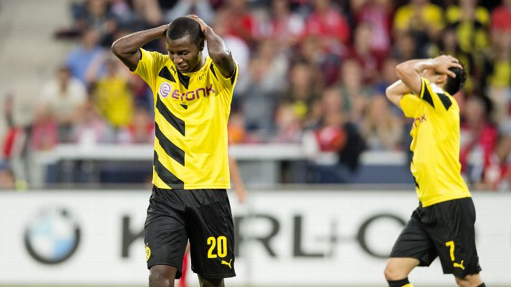 Try as they might, a goal against Mainz was not in the cards for Adrian Ramos and Borussia Dortmund.