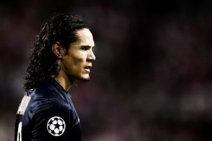 The positioning of striker Edinson Cavani is one of several complaints lodged against PSG boss Laurent Blanc.