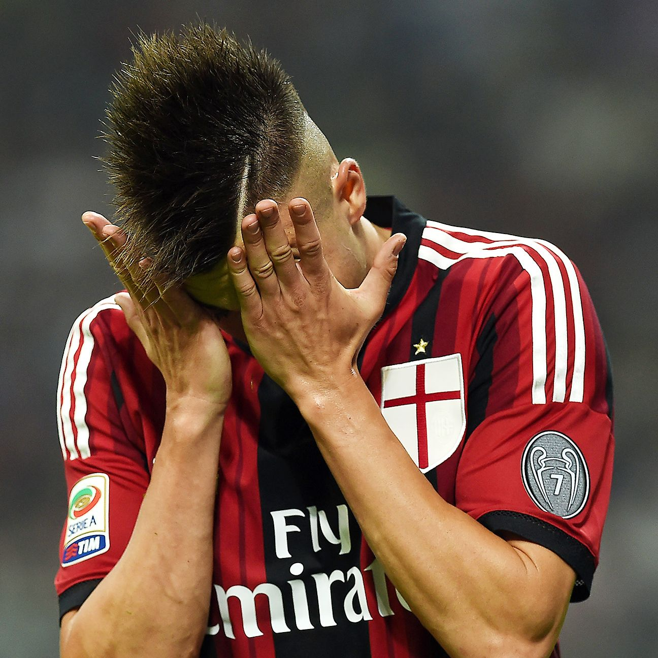 Stephan El Shaarawy and Milan failed to generate enough creativity in attack during their 1-0 defeat to Juventus.