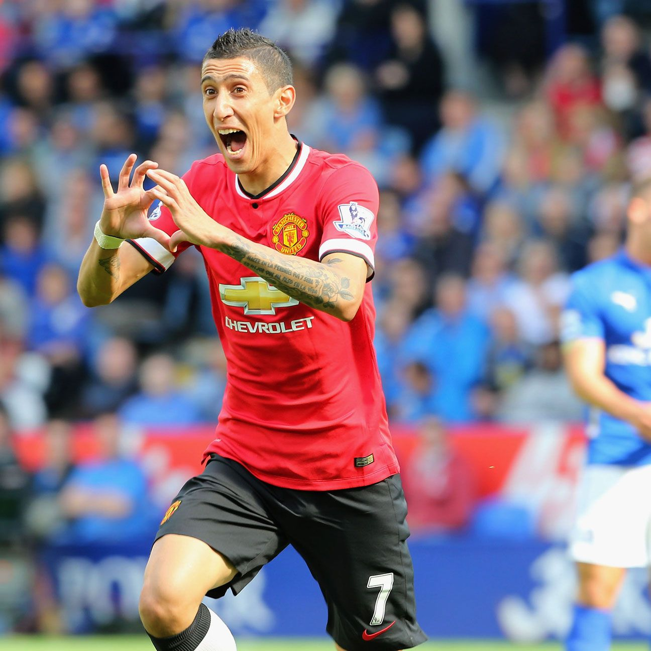 Angel di Maria has hit the ground running at Manchester United.