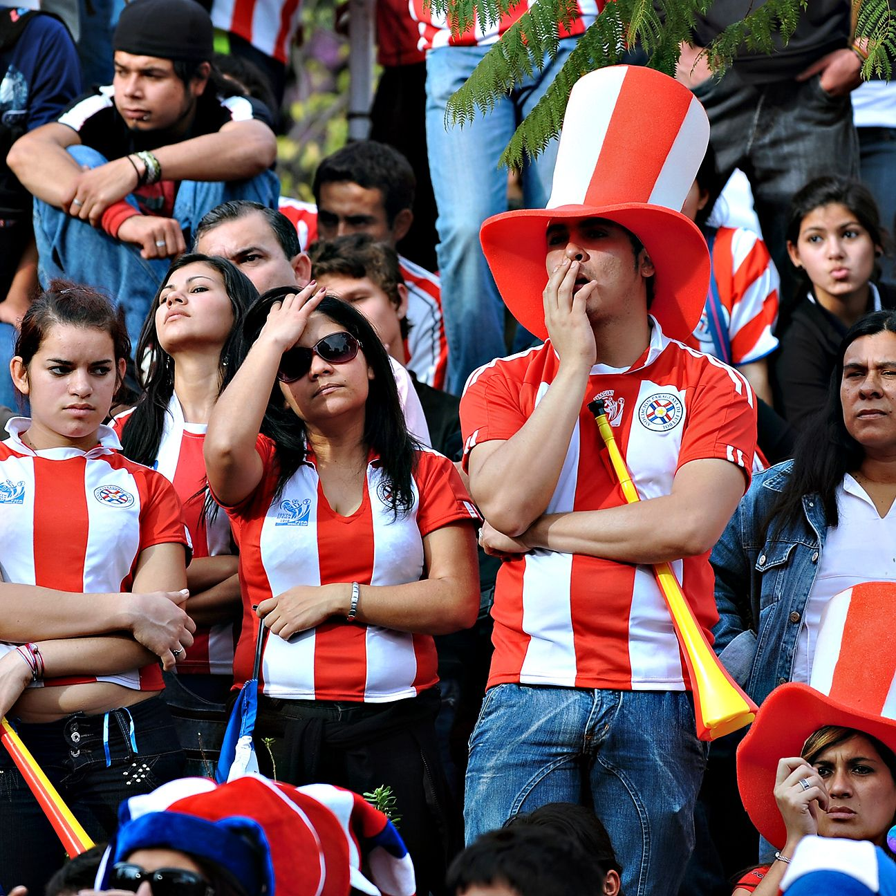 While their neighbours from all around South America got to see their national teams in action at the World Cup in Brazil, Paraguay fans were not as lucky.