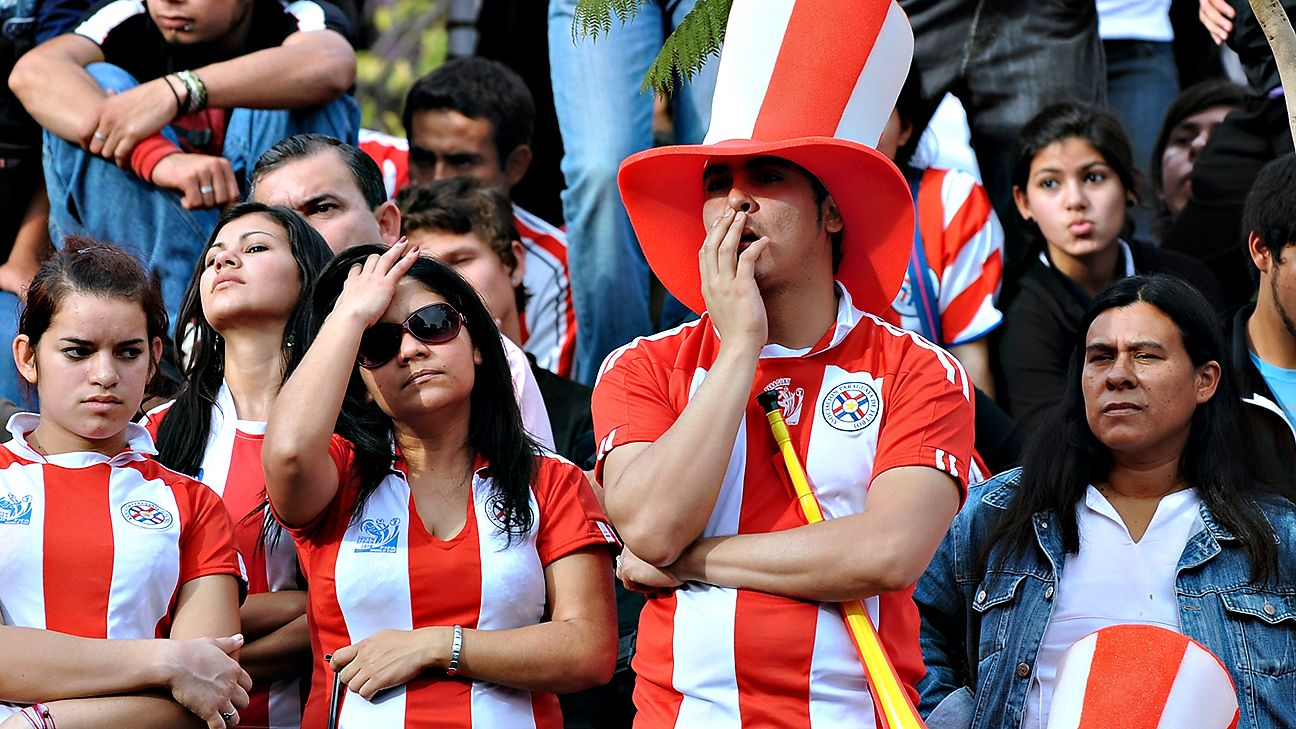 Paraguayan Football Turned Into A Giant Heartbreak Hotel