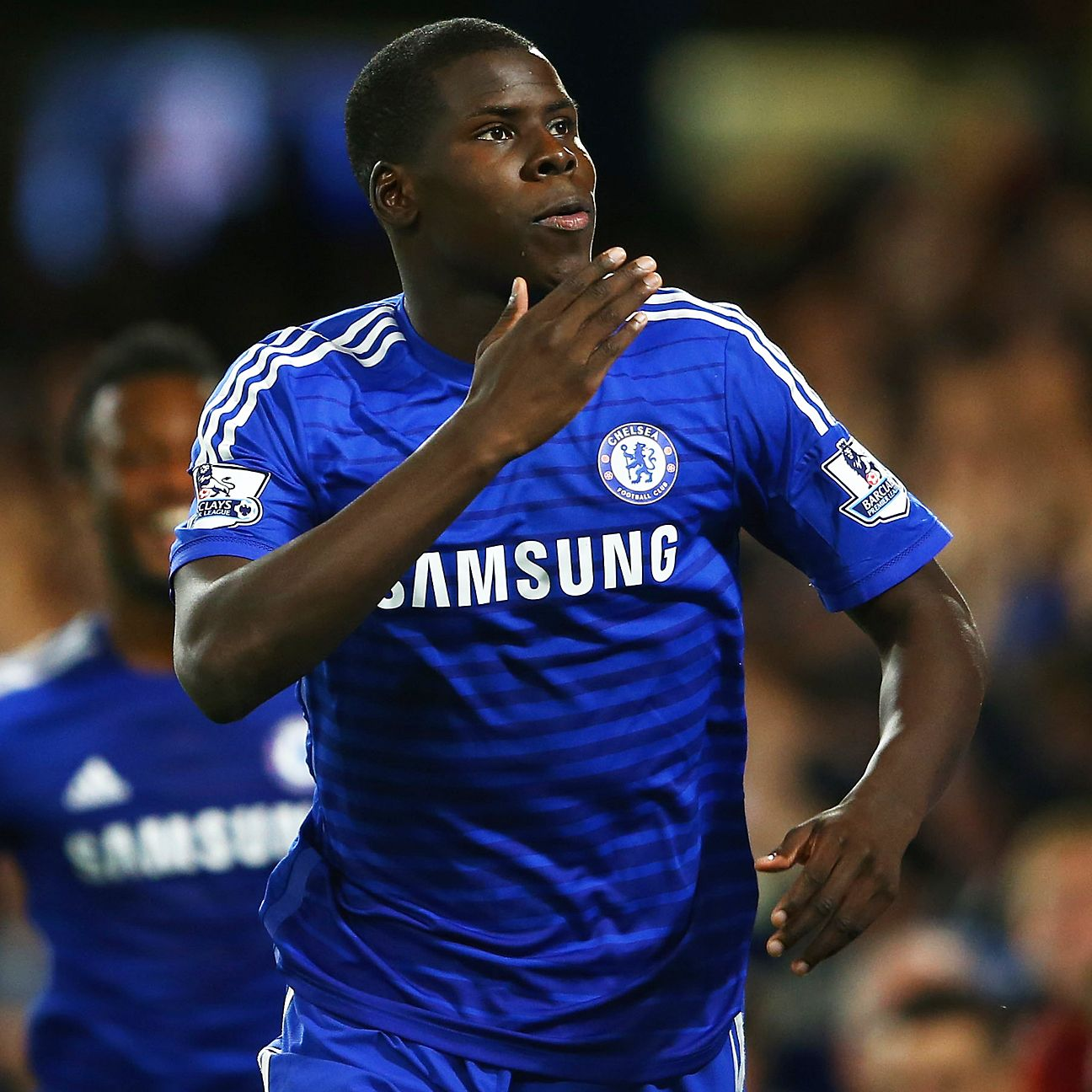 Youngster Kurt Zouma scored the first of Chelsea's two goals on the night.