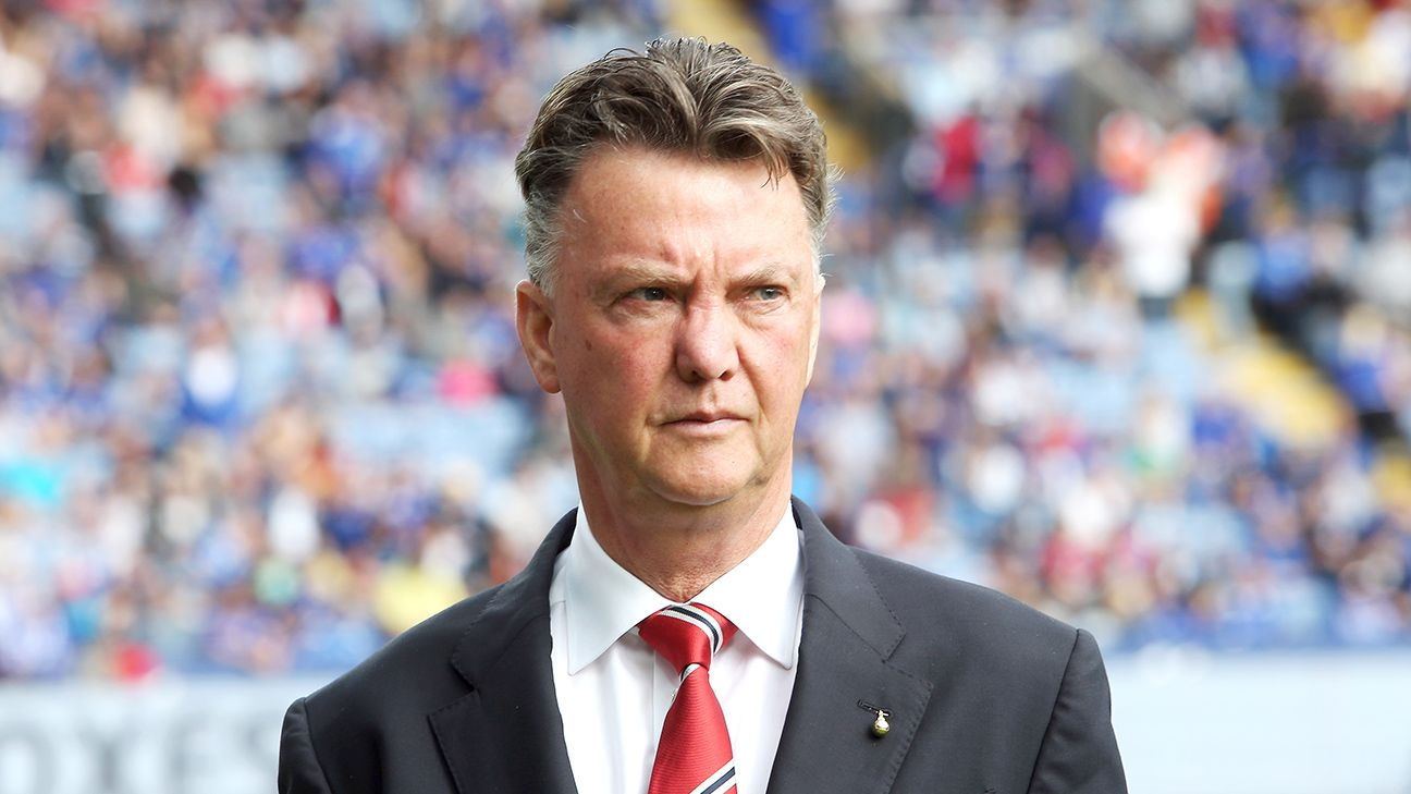 Manchester United have just five points out of a possible 15 under manager Louis van Gaal.
