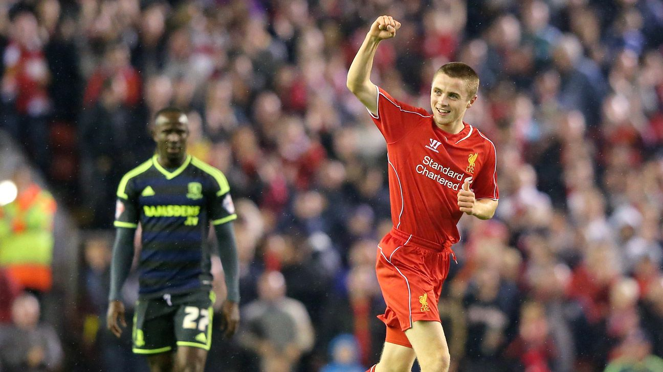 Jordan Rossiter's debut goal was overshadowed by Liverpool's wild penalty shootout win over Middlesbrough.