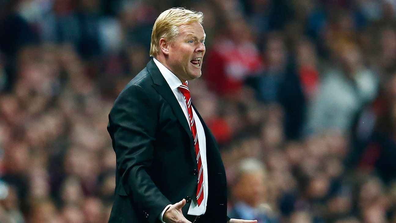 Ronald Koeman has worked wonders this season at Southampton in leading a supposedly depleted Saints squad to the upper echelons of the Premier League.